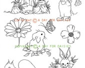 Animal Friends Clear Polymer Stamp Collection