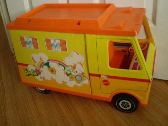 Vintage 1971 Mattel Barbie Country Camper