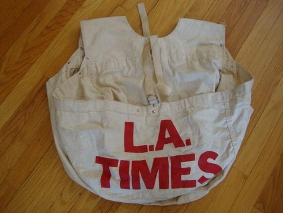 Vintage Newspaper Boy Newspaper Boy Bag on Etsy