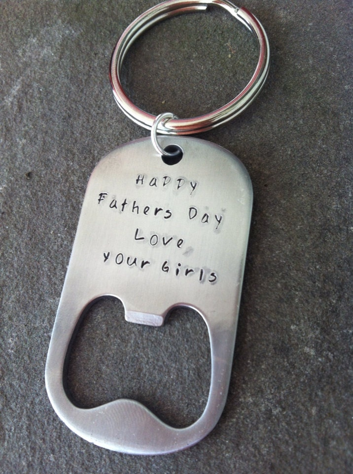 hand stamped bottle opener personalized by sunsetbluegifts on etsy. Black Bedroom Furniture Sets. Home Design Ideas