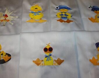 Quackers Machine Embroidered Quilt Blocks Set