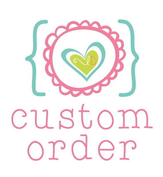 Custom Listing For Brooke Weaver