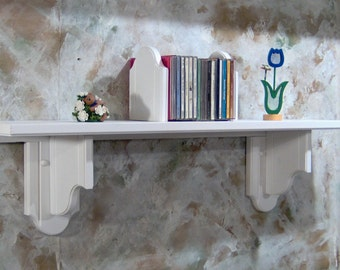 White Custom Size Shelf by the Inch
