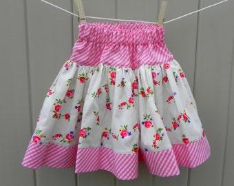 Prairie Rose Twirly Skirt Size 18 months - 2T