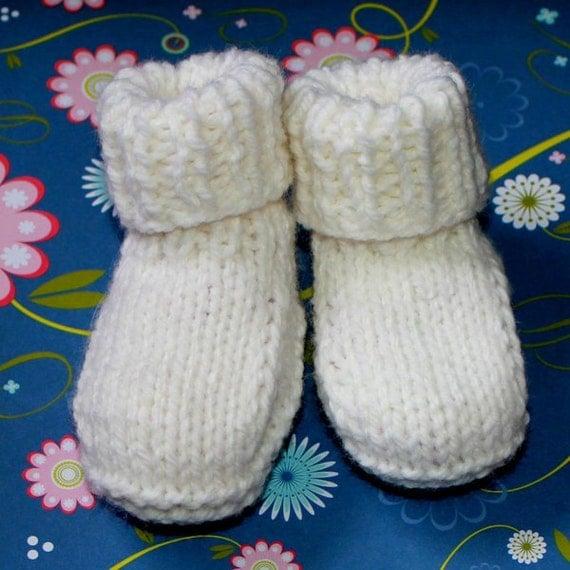 KNITTING PATTERN -  Beginner Baby Booty Skidoo 2 Sizes