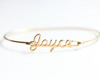 Vintage Name Bracelet - Joyce