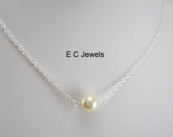Single Pearl Necklace