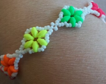 Dazzling Duo Bracelet PDF Bead Weaving Tutorial (INSTANT DOWNLOAD)