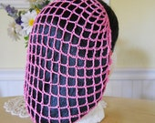 French Rose Snood Hair Net