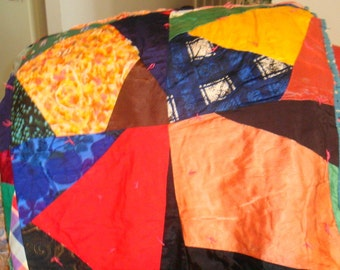 Antique Handmade Quilt Made approximately 1910