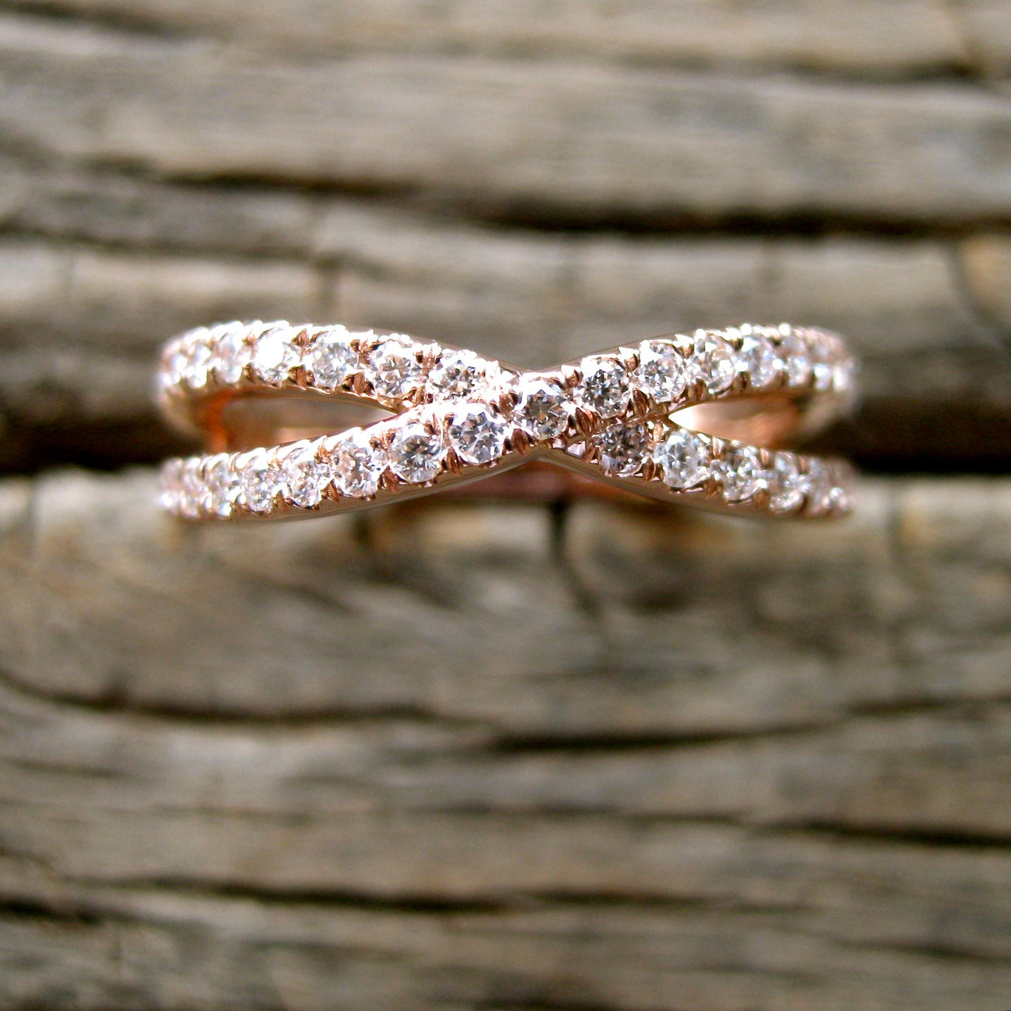 gold infinity s cts wedding cut lalaserengraving beautiful solid unique princess la of ring white band bands
