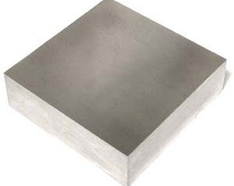 """BENCH BLOCK   2 1/2""""  X 2 1/2""""  X 3/4"""" for Metal Working - Essential for Stamping"""