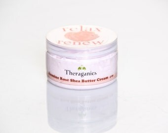 Whipped Shea Butter Body Cream Parfait with Essential Oils of Jasmine, Rose and Sandalwood