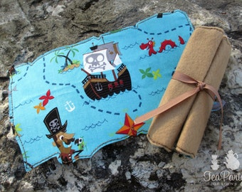 Pirate Dress Up Treasure Map