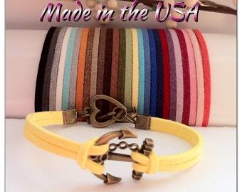 Anchor Bracelet, Charm Bracelet, Friendship Bracelet
