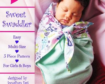 Sweet Swaddler PDF Pattern by SewBaby