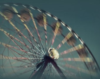 Carnival Photography - Circus Photography - Fine Art Photography - Ferris Wheel