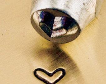 Metal Design Stamp By Impressart 3mm Whimsy Heart