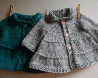 tricoter un manteau pour bebe