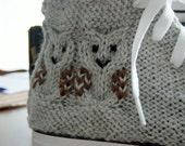 Owl Knit Chucks