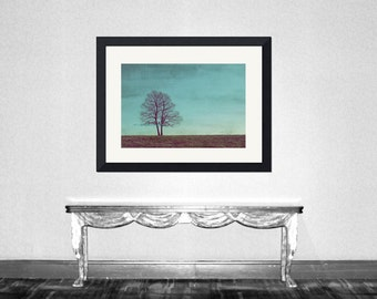 All I wanna do is grow old with you - Two trees  Valentine day gift  for her together forever  just us  wedding gift Photograph Print 4 x 6