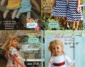 Formal Dress and Doll PDF Sewing Pattern Combo
