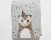 Birthday Bear Card 1 pc