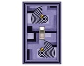 1428x  Purples Mod Design Switchplate   mrs butler (style & price in drop-down box)