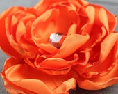 Romantic Satin Dog Collar Flower - Dog Wedding or Special Occasion Accessory