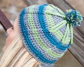 Ridge Ryder Beanie Crochet PDF Pattern - Instant Download