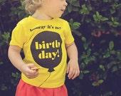 Hooray It's My Birthday // Toddler T-Shirt