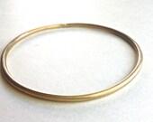 Brass Bangle Bracelet