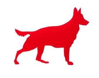 Deutscher Schäferhund-Brosche