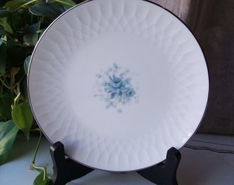 ONE Noritake Hyannis Pattern 6535 Bread and Butter Plate, 1964 - 1970 Lines & Diamonds Embossed Dish, 9 Plates Available