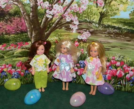 CHELSEA 3 pk  Happy Easter  outfits (CHLSE-340)