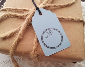 Fill in the Number Mini Tags Set of 25