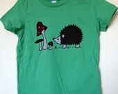 Hedgehog Cotton Shirt Babies Children