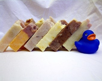 I Can't Decide Handcrafted Soap Sampler All Natural Vegan Scented Handmade Soap Variety Pack