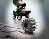 The Gear Steampunk  Mile High Cosplay Rockstar Original Aviation Dog Tag Pilot Chain Necklace