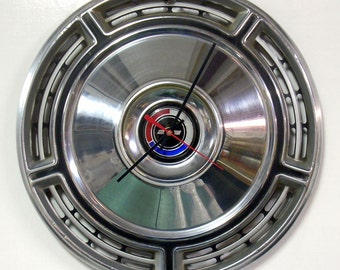 Unique Wall Clock - 1968 Chevrolet Chevelle Hubcap Clock - Chevy Wall Clock - Automotive Gift - Muscle Car - Classic Car