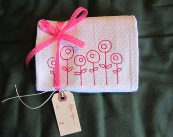Spring Hostess Towel