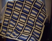 SALE-Baby Boy Blanket or lapghan