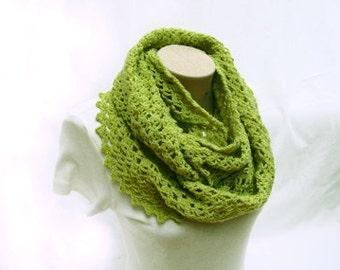 PDF Tutorial Crochet  Infinity Scarf Pattern
