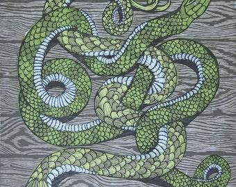 Soundgarden Letterpress & Woodcut Poster