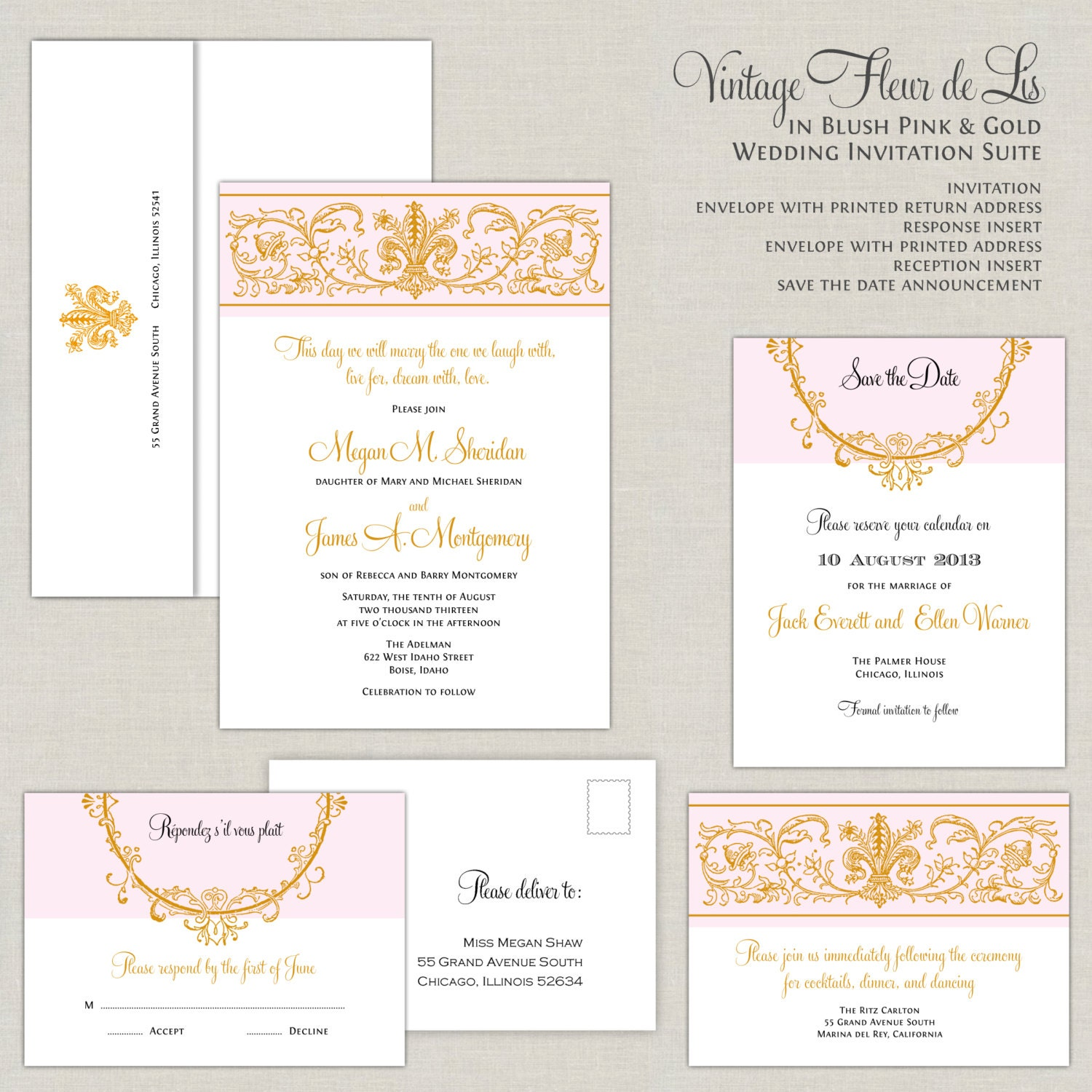 Fleur De Lis Wedding Invitations is one of our best ideas you might choose for invitation design