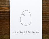 Break On Through To The Other Side - Handmade Card