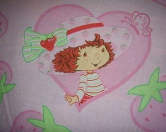 Strawberry Shortcake Full Fitted Sheet