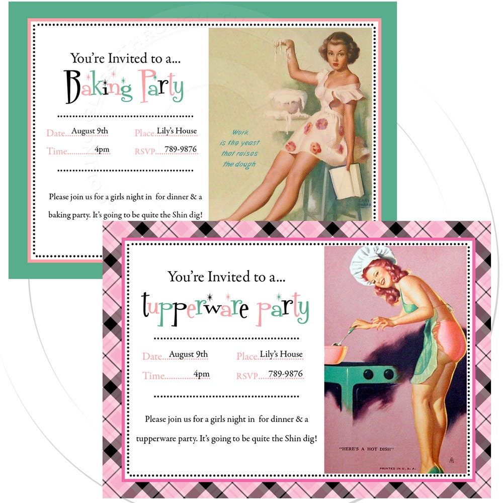 Tupperware Party Invitations sympathy card quotes