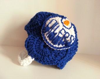 Baby Oilers Helmet, NHL Oilers baby Shower