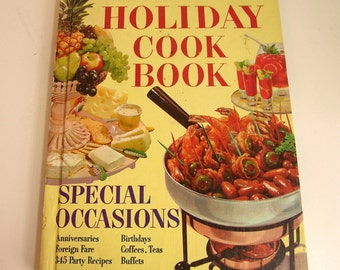 Better Homes And Gardens Holiday Cookbook Special Occasions Vintage Book